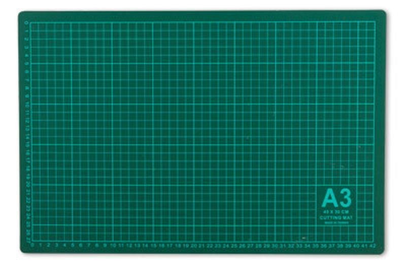 Мат для резки ткани 30х45 см,Gamma,Тайвань