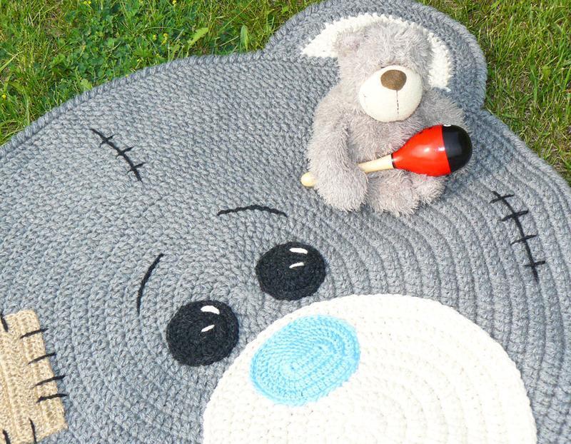 Коврик для детской комнаты «Мишка Тедди»