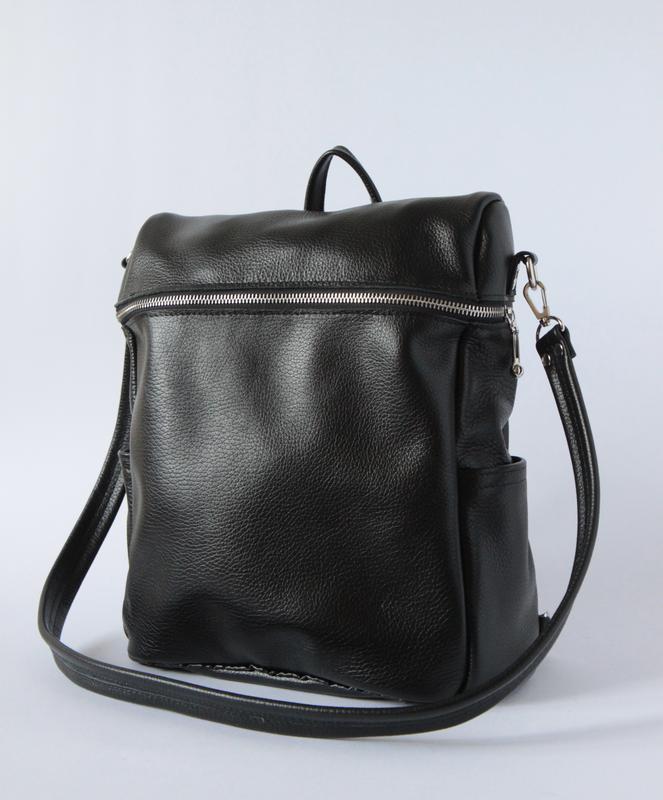 913b91e06cbd Стильный женский рюкзак-сумка из натуральной кожи ручной работы ...
