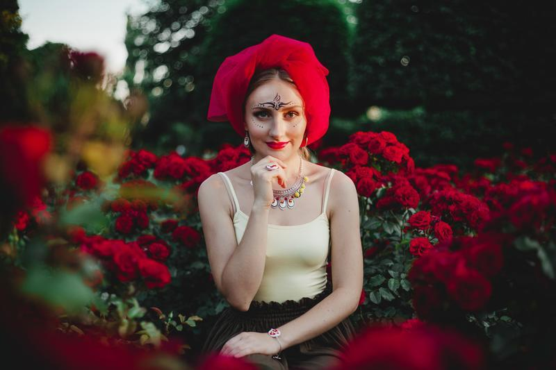 Колье In bloom