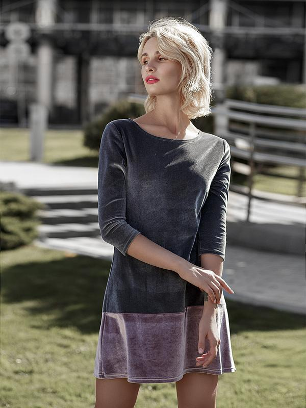 Платье Romantic Velvet Dress