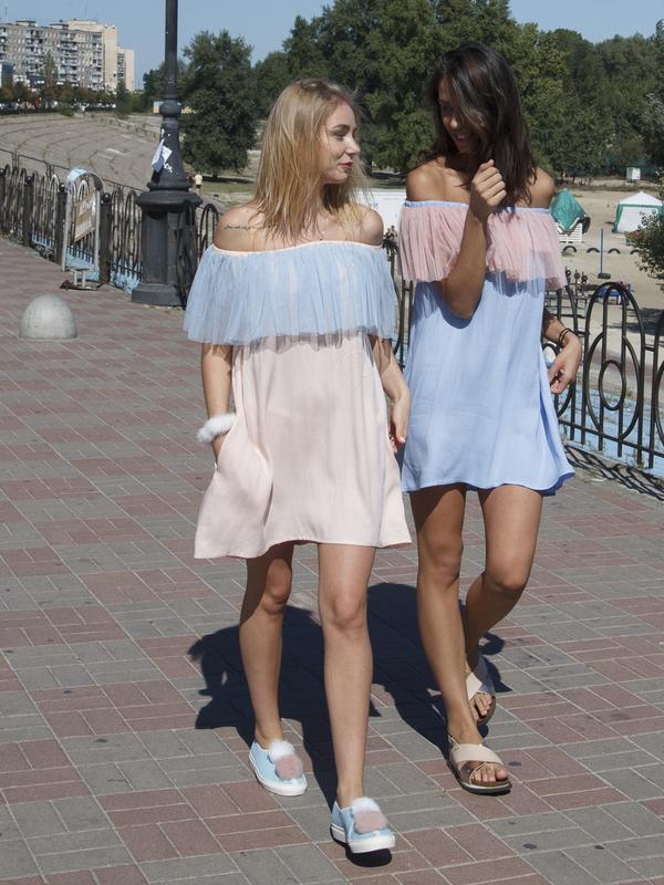 Воздушное платье с воланами Flounce Airdress