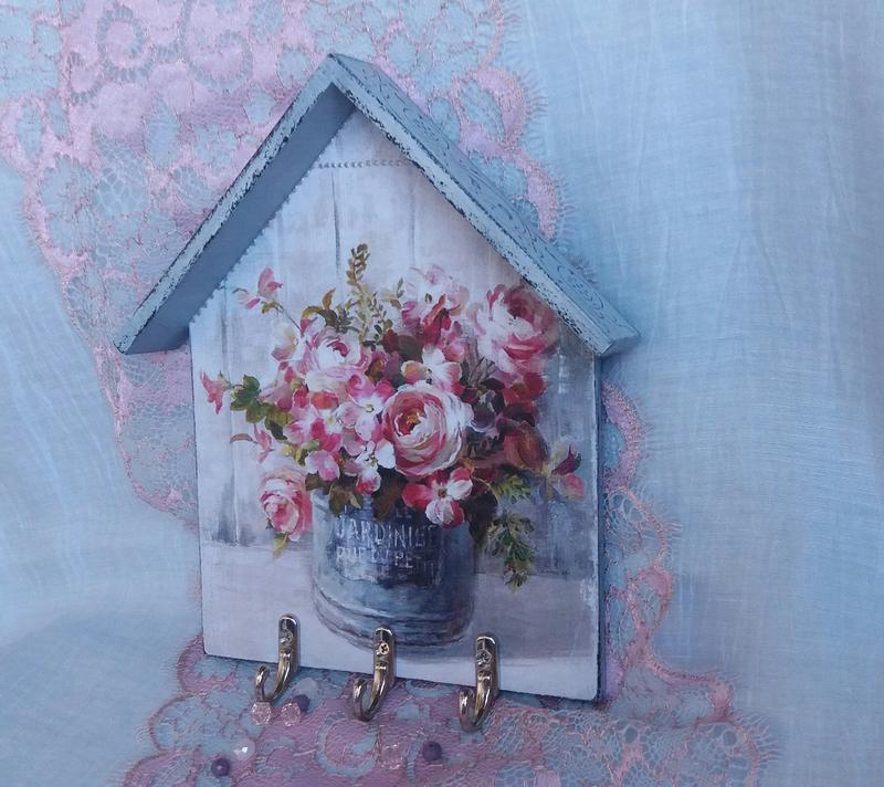 декупаж ключницы фото цветков исходит