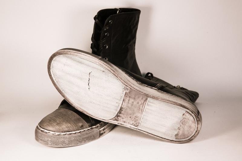 Кожаные Sneakers