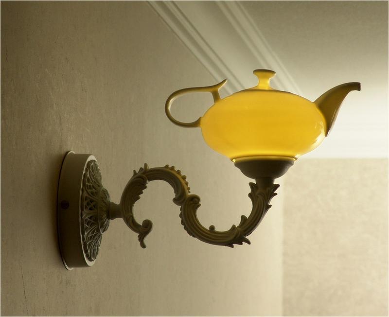 Ночник в детскую комнату, Волшебная лампа Алладина.