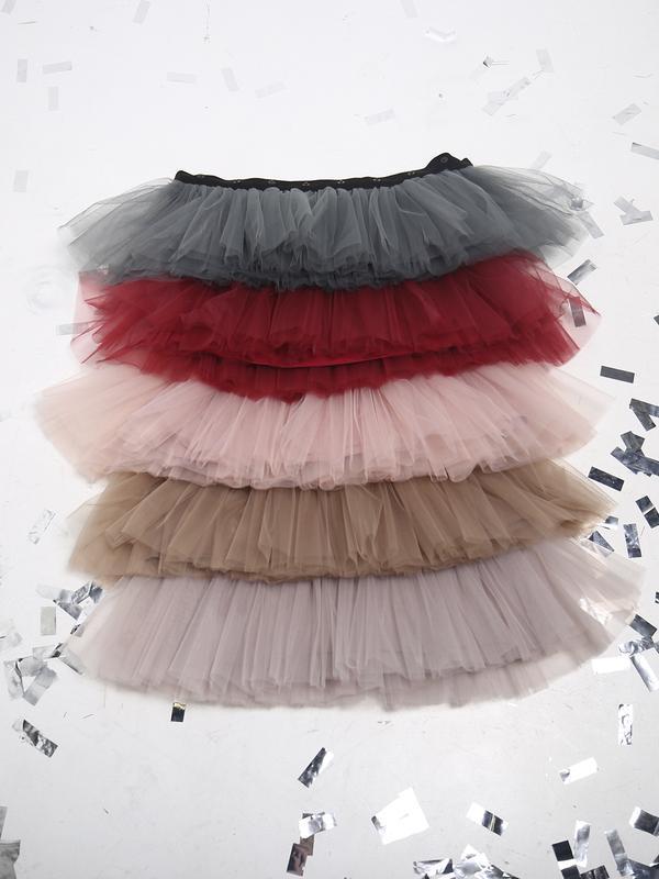 Комплект плаття-трансформер Airdress (сірий верх + 5 знімних спідничок)