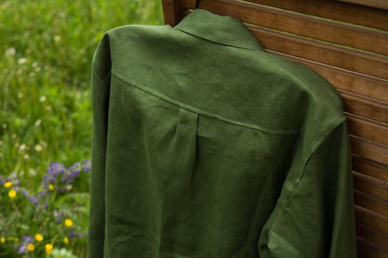 Мужская льняная рубашка. Размеры M L XL XXL