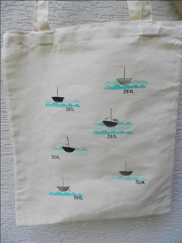 Еко сумка Кораблі