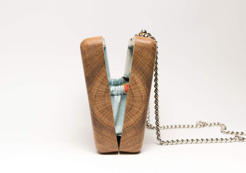Дерев'яна сумка клатч WiseWoodBag