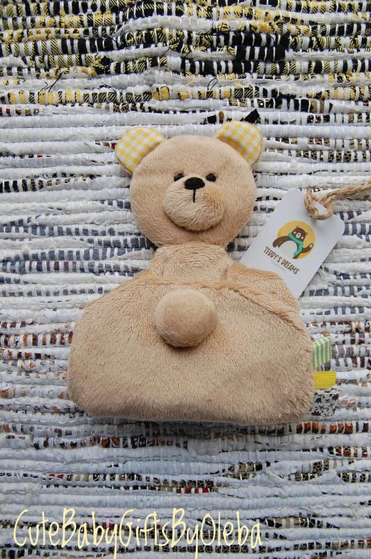 Комфортер для малышей Мишка с пчелкой