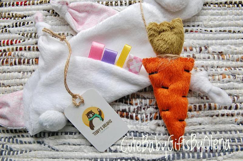 Комфортер для малышей Зайка с морковкой