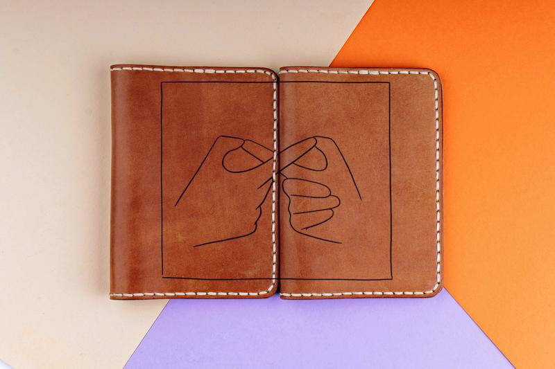 14 февраля! Парные обложки на паспорта