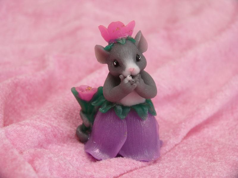 Мыло Мышка в юбке из тюльпана