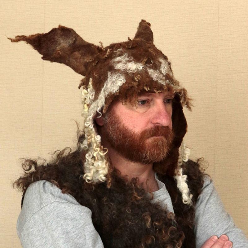 """Валяная шапка """"Викинг"""""""