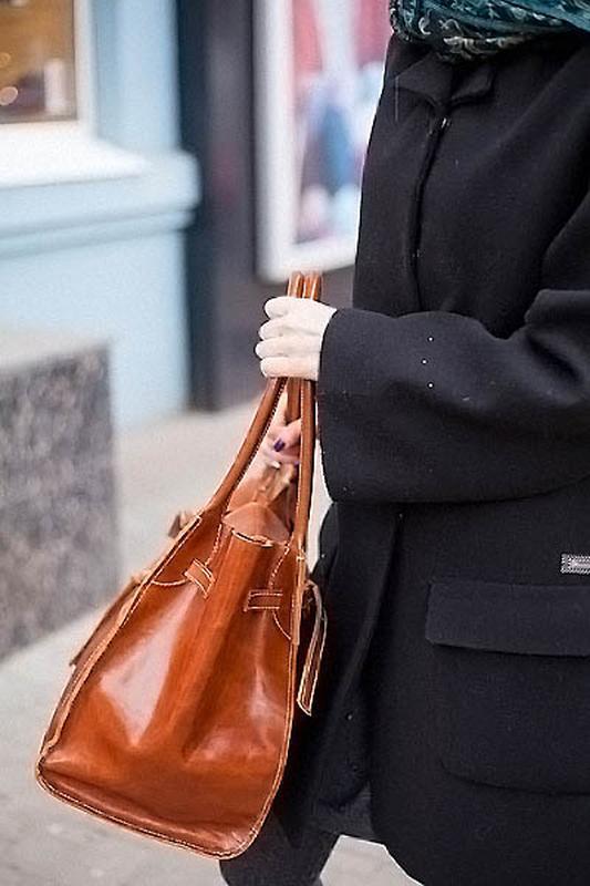 Кожаная сумка EvaDidenko