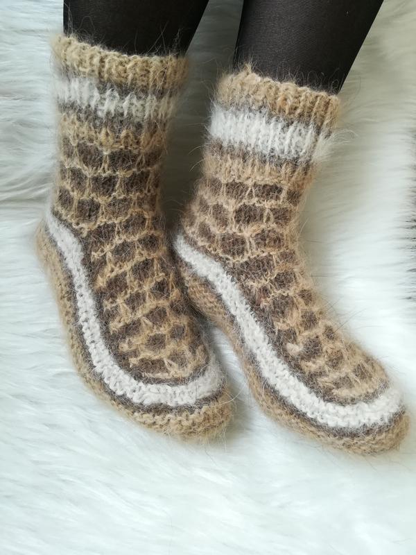 e013eb2c41b57 Носки из собачьей шерсти 37-38 натуральные теплые шерстяные ручной ...