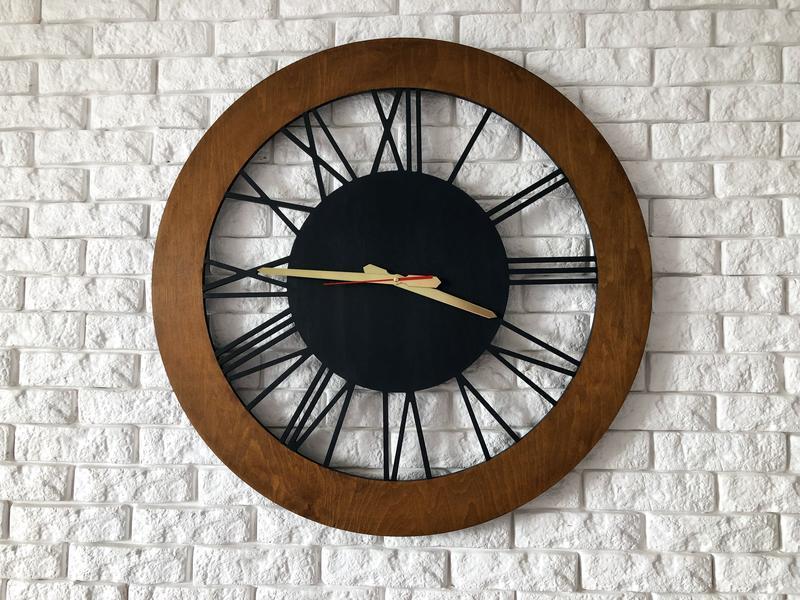Часы настенные ЛОФТ 60см. На заказ