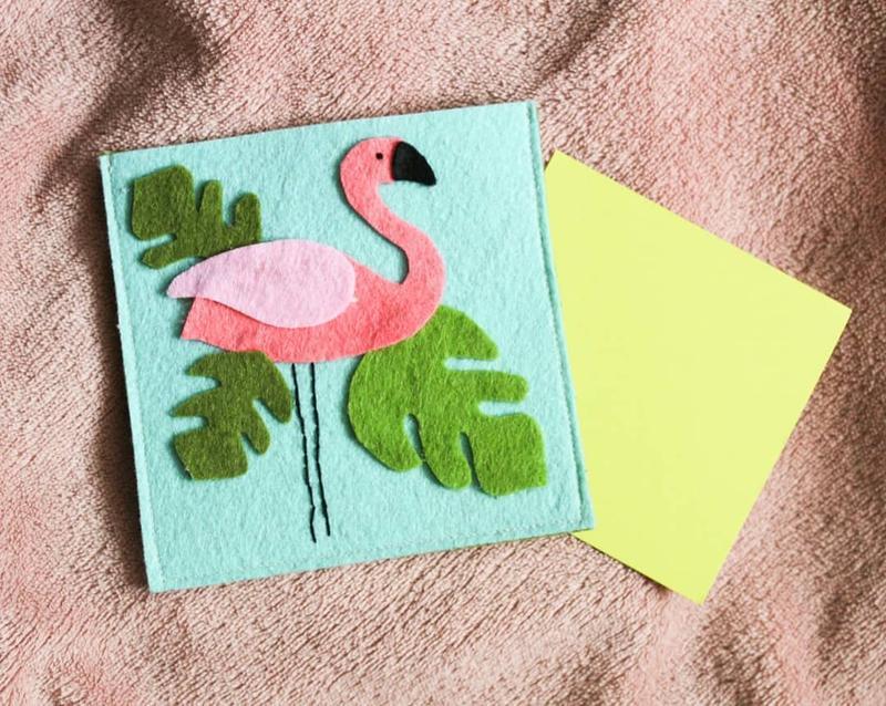 Как сделать открытку из фетра на 8 марта, открытки своими