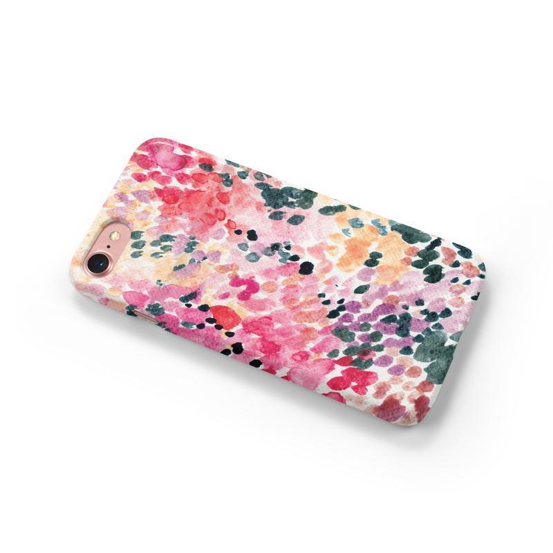 Пластиковый чехол с абстрактным принтом на iphone(любая модель)