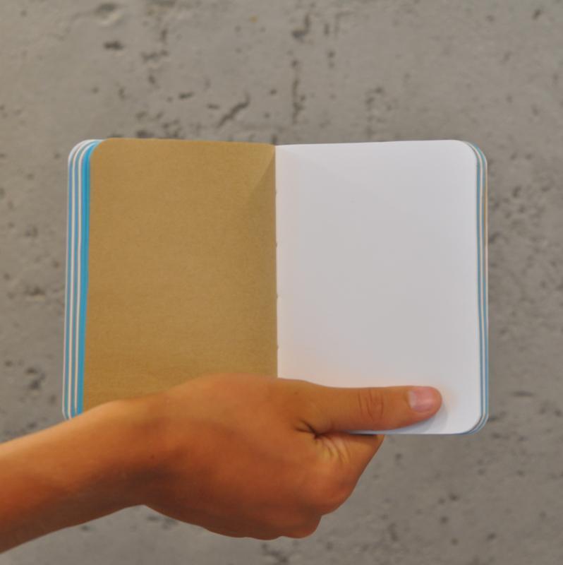 Блокнот с чистыми листами, скетчбук А6