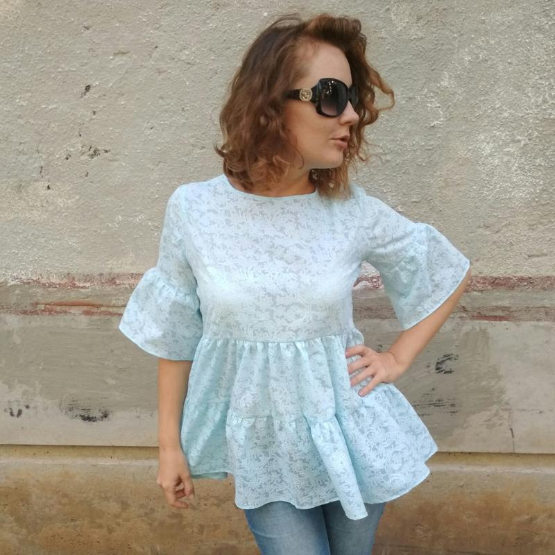 97aa6f01094 Туника блузка ручной работы купить в Украине. №262930