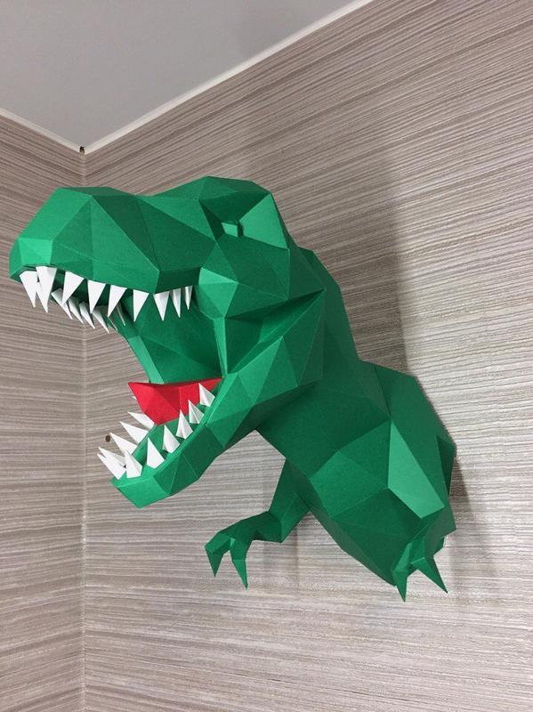 Тираннозавр - подарочный набор для сборки