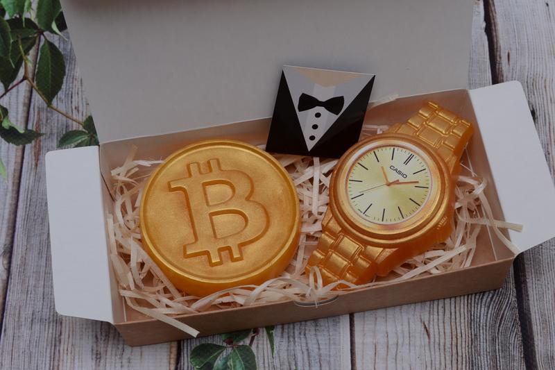 Набор мыла для мужчин Время -деньги