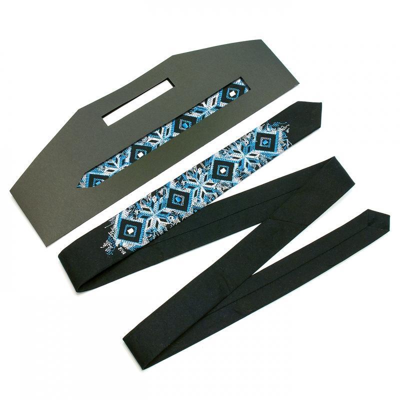 Вузький вишиту краватку Арт#2